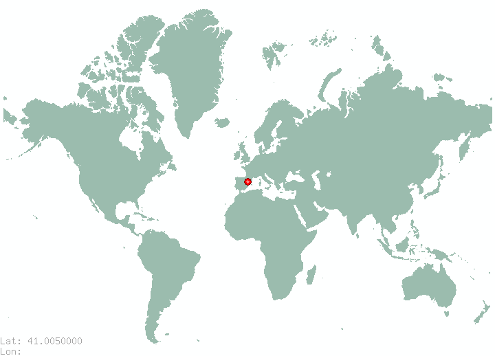 Trabzon in world map